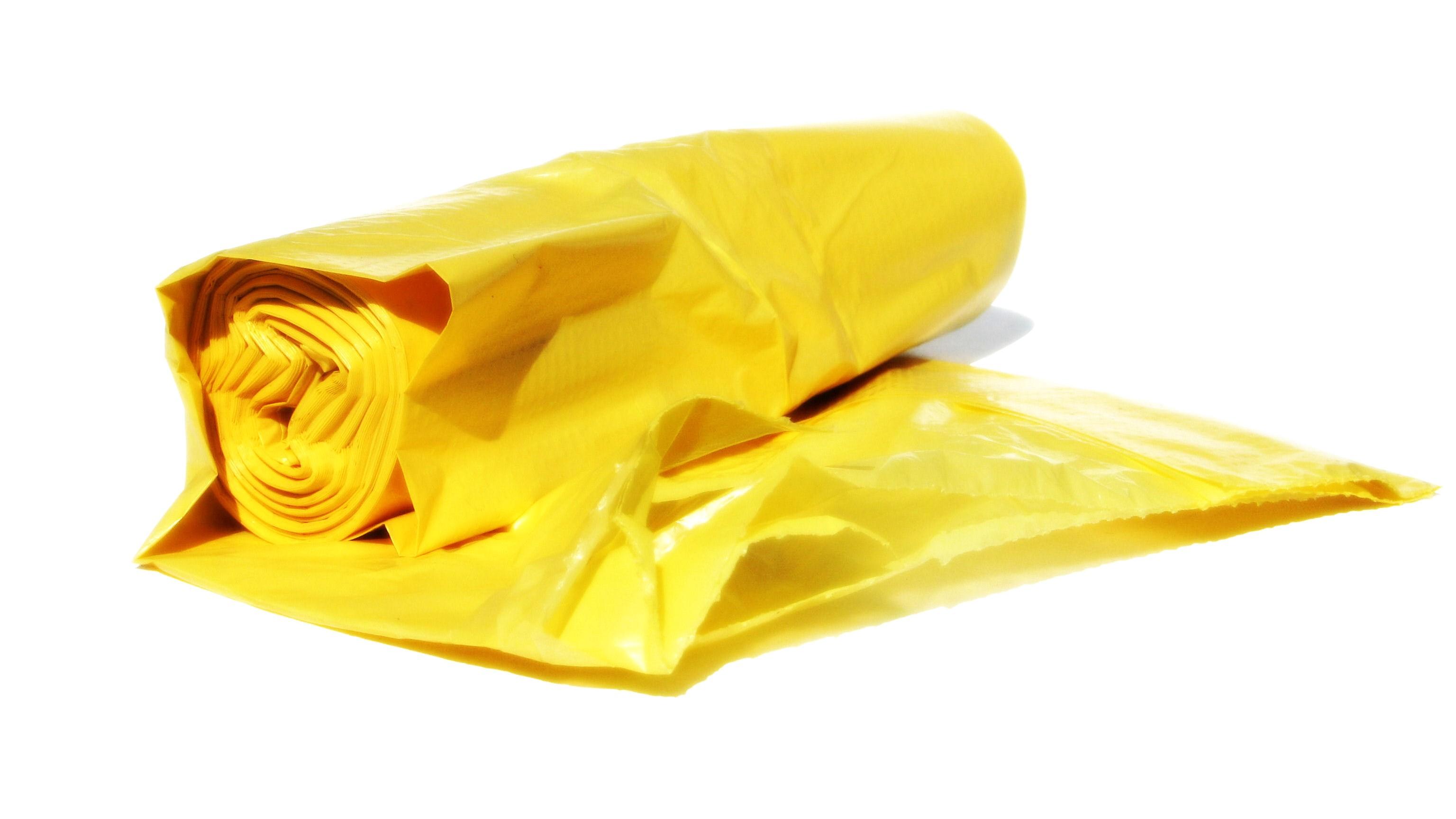 Backpacker Tip: Orange Garbage Bag Liner